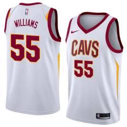 Eric Williams Twill Basketball Jersey -Cavaliers #55 Williams Twill Jerseys, FREE SHIPPING