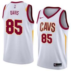 Baron Davis Twill Basketball Jersey -Cavaliers #85 Davis Twill Jerseys, FREE SHIPPING