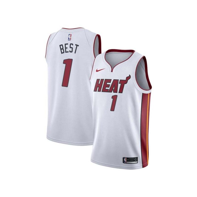 Travis Best Heat #1 Twill Jerseys free shipping