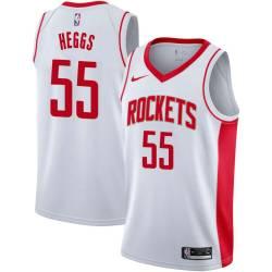 Alvin Heggs Twill Basketball Jersey -Rockets #55 Heggs Twill Jerseys, FREE SHIPPING