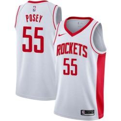 James Posey Twill Basketball Jersey -Rockets #55 Posey Twill Jerseys, FREE SHIPPING