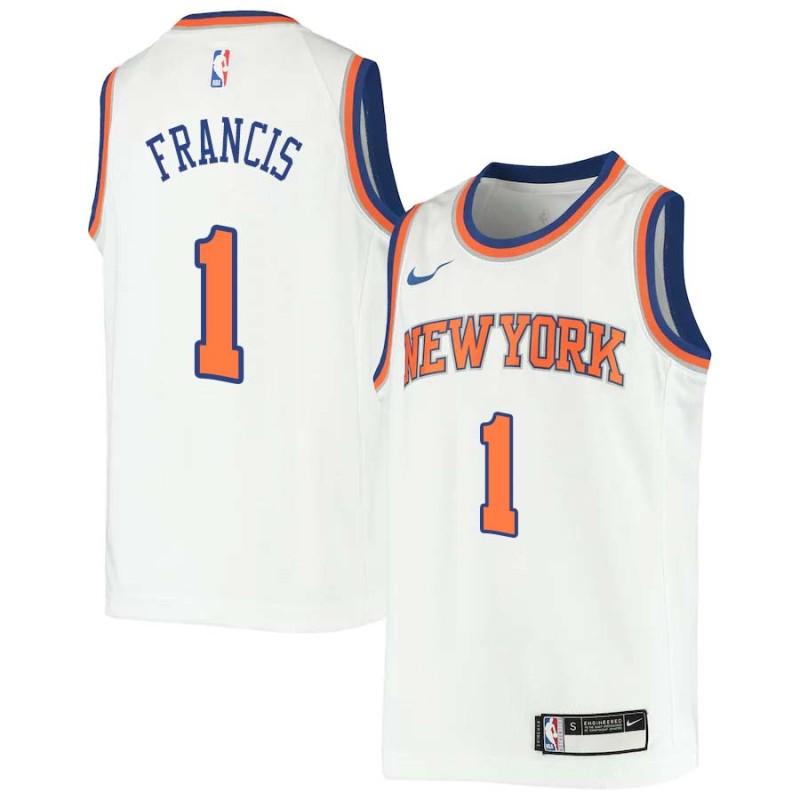 new arrival c3a37 47bd3 Steve Francis Knicks #1 Twill Jerseys free shipping