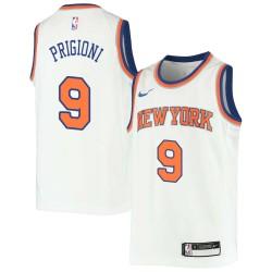 Pablo Prigioni Twill Basketball Jersey -Knicks #9 Prigioni Twill Jerseys, FREE SHIPPING