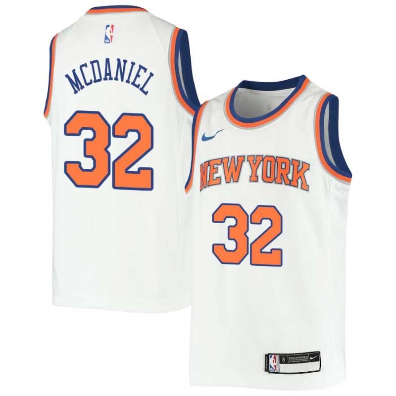the best attitude 9ad45 ee585 Xavier McDaniel Knicks #32 Twill Jerseys free shipping