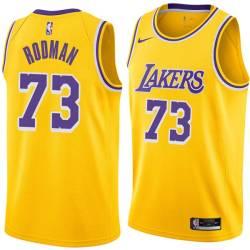 Dennis Rodman Twill Basketball Jersey -Lakers #73 Rodman Twill Jerseys, FREE SHIPPING