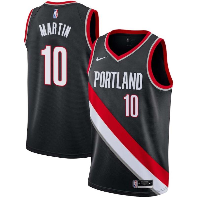Fernando Martin Trail Blazers #10 Twill Jerseys free shipping
