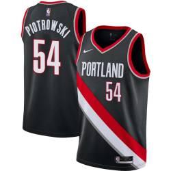 Tom Piotrowski Twill Basketball Jersey -Trail Blazers #54 Piotrowski Twill Jerseys, FREE SHIPPING