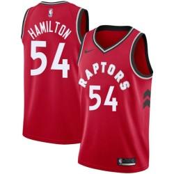 Zendon Hamilton Twill Basketball Jersey -Raptors #54 Hamilton Twill Jerseys, FREE SHIPPING