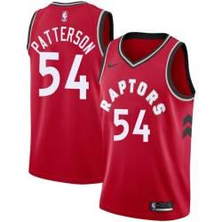 Patrick Patterson Twill Basketball Jersey -Raptors #54 Patterson Twill Jerseys, FREE SHIPPING